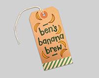 food labelling: ben's banana brew