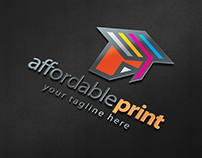 Affordable Print - Logo Template