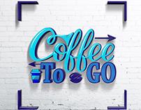 Coffee To GO, Coffee House Logo