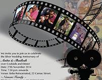 Digital Invitation for 25th Anniversary (2014)