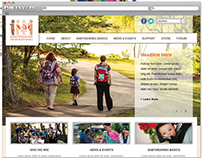 Babywearing International Website Design