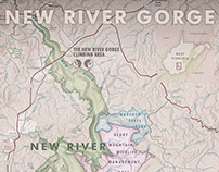 New River Gorge National Park Map