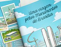 Livro para Colorir - Monumentos de Brasília