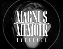 MAGNUS MEMOIR's Typeface