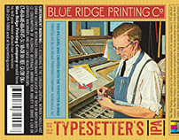 Blue Ridge Printing Beer Labels