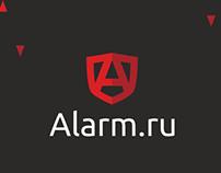 Branding Alarm / brandbook / logotype