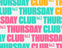 Manifest Thursday Club Brand Identity