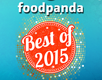 foodpanda Best of 2015