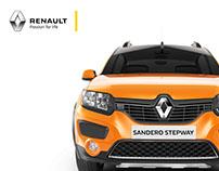 Renault Sandero Stepway CGI.