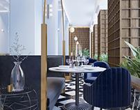 "Concept of ""Palaz"" restaurant"