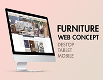 Doğtaş Furniture Web Concept