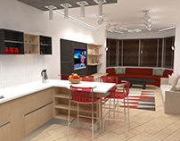 Kitchen & Living room Dnipro