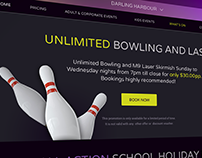 Kingpin Bowling – Website design & development
