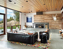 Contemporary Western by Hoyt / CTA Architects