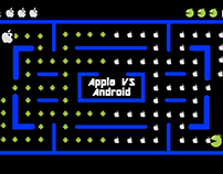 Apple vs Android Pac-Man Battle