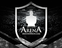 Banner for Arena's entrance