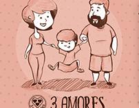 """3 Corações - Campanha Promocional """"3 Amores"""""""