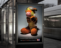 Poster Campaign - Social Problem: Child Abuse