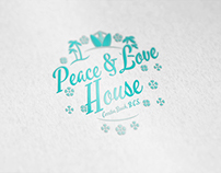 Peace and Love House at Cerritos Beach, B.C.S.