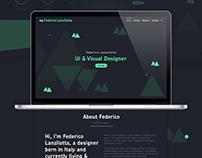 Personal Portfolio Design V.1