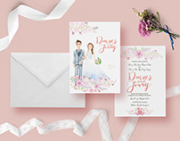Davies & Jenny Wedding Stationery