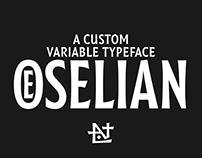 Oselian | Custom Typeface