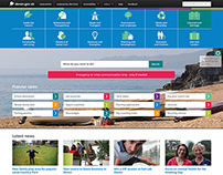 Devon County Council website