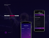 Record Radio / Mobile App