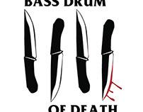 bass drum of death x black flag