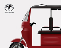 Electric auto rickshaw
