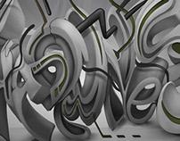 Shadowness Graffiti Style