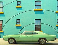 CG Mercedes & Vintage Car