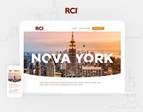 Landing page • Nova York