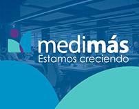 Medimás - Estamos creciendo