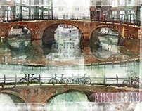 Amsterdam postcards