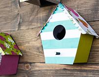 3D Bird House Design
