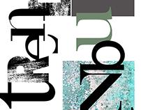 Typography - Trendsetter İstanbul