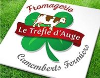 """Logo - Fromagerie """"Le Trèfle d'Auge"""" (Normandie)"""