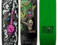 Jart Skateboards - 2018 Skate decks