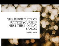 The Importance of Putting Yourself First