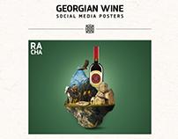 Georgian Wine - Social Media Posters