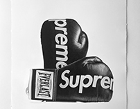 Supreme Boxing Gloves