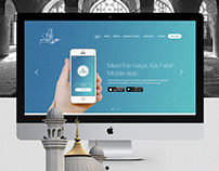 Haf Website Template