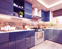 The Blue Kitchen | Design