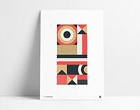 Geometric Poster Animation