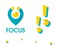 FOCUS Logo and branding identity