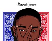 Kendrick Lamar illustration