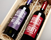 Hoults Wine Merchants — Brand Identity