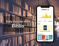Daily Project #014 - Biblio