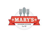 Mary's Country Kitchen Flyer